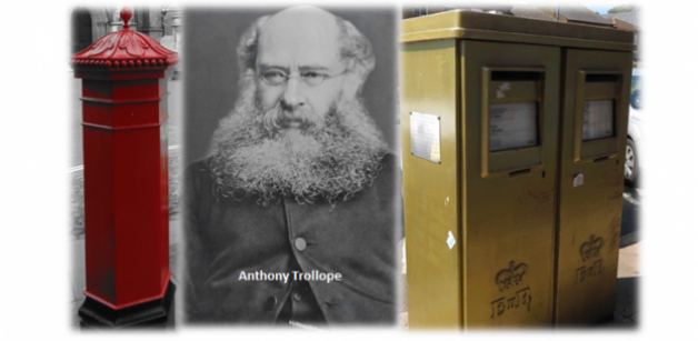 Anthony Trollope and the pillar box
